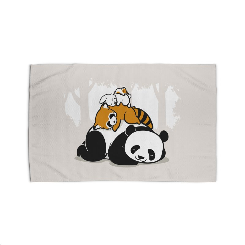 Comfy Bed Home Rug by Threadless Artist Shop