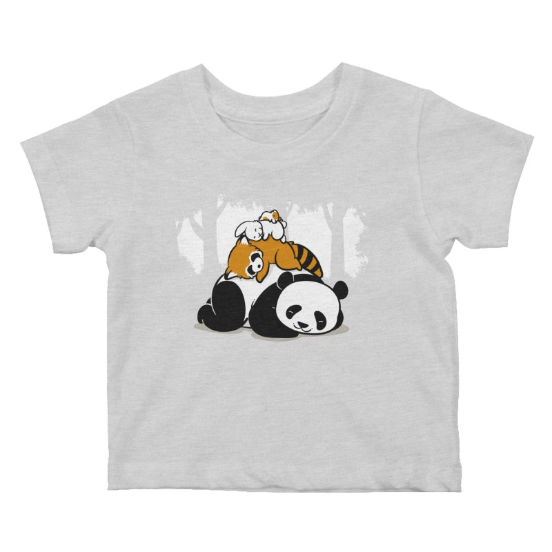Comfy Bed Kids Baby T-Shirt by Threadless Artist Shop