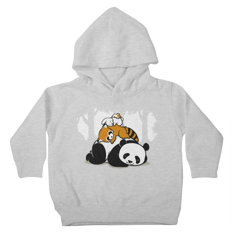 Comfy Bed Kids Toddler Pullover Hoody by Threadless Artist Shop