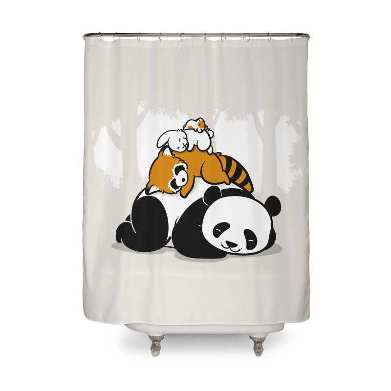 Comfy Bed Home Shower Curtain by Threadless Artist Shop