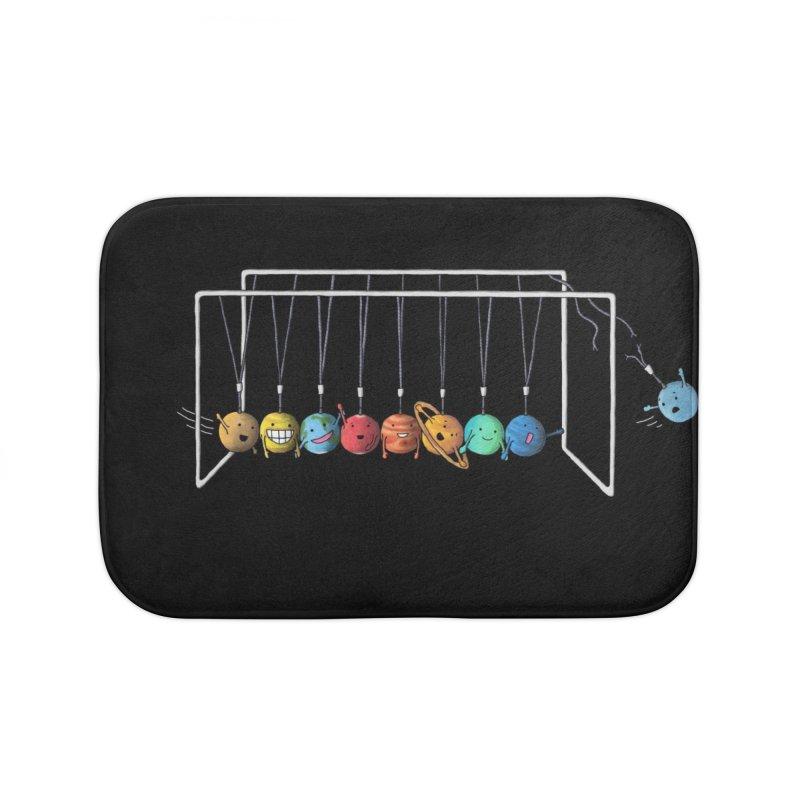 Planet System Home Bath Mat by Threadless Artist Shop