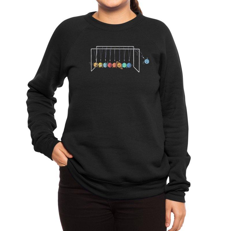 Planet System Women's Sweatshirt by Threadless Artist Shop