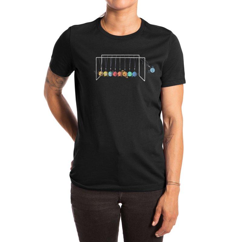 Planet System Women's T-Shirt by Threadless Artist Shop