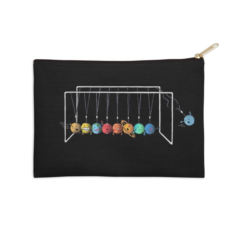 Planet System Accessories Zip Pouch by Threadless Artist Shop