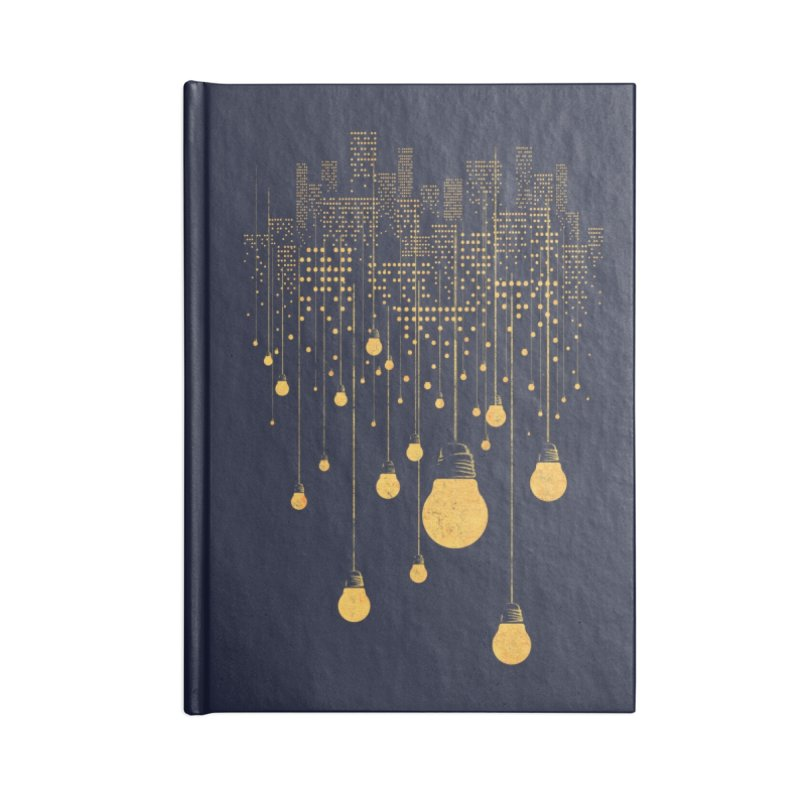 The Hanging City Accessories Notebook by Threadless Artist Shop