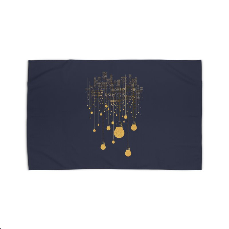 The Hanging City Home Rug by Threadless Artist Shop