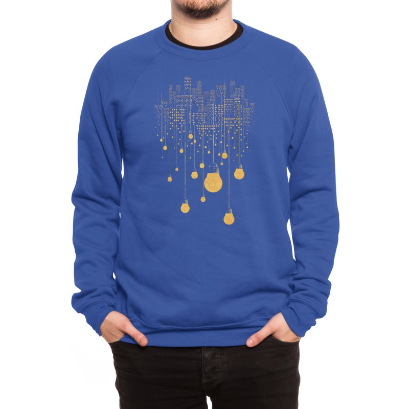 The Hanging City Men's Sweatshirt by Threadless Artist Shop