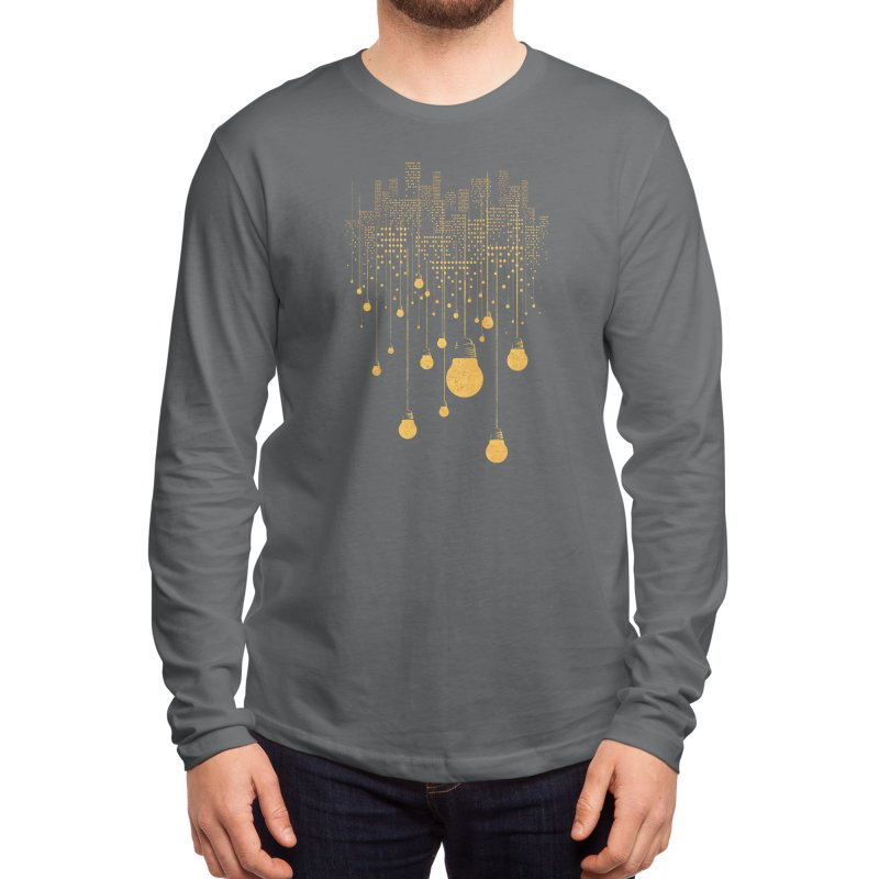 The Hanging City Men's Longsleeve T-Shirt by Threadless Artist Shop