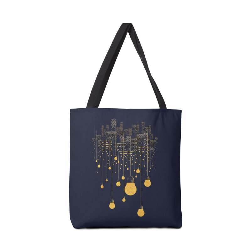 The Hanging City Accessories Bag by Threadless Artist Shop