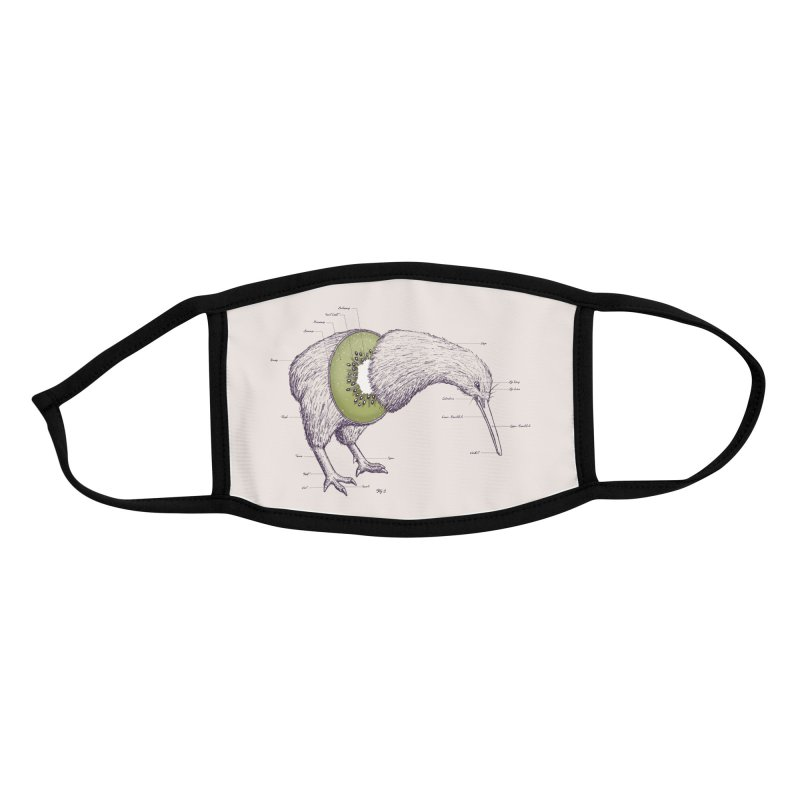 Kiwi Anatomy Accessories Face Mask by Threadless Artist Shop