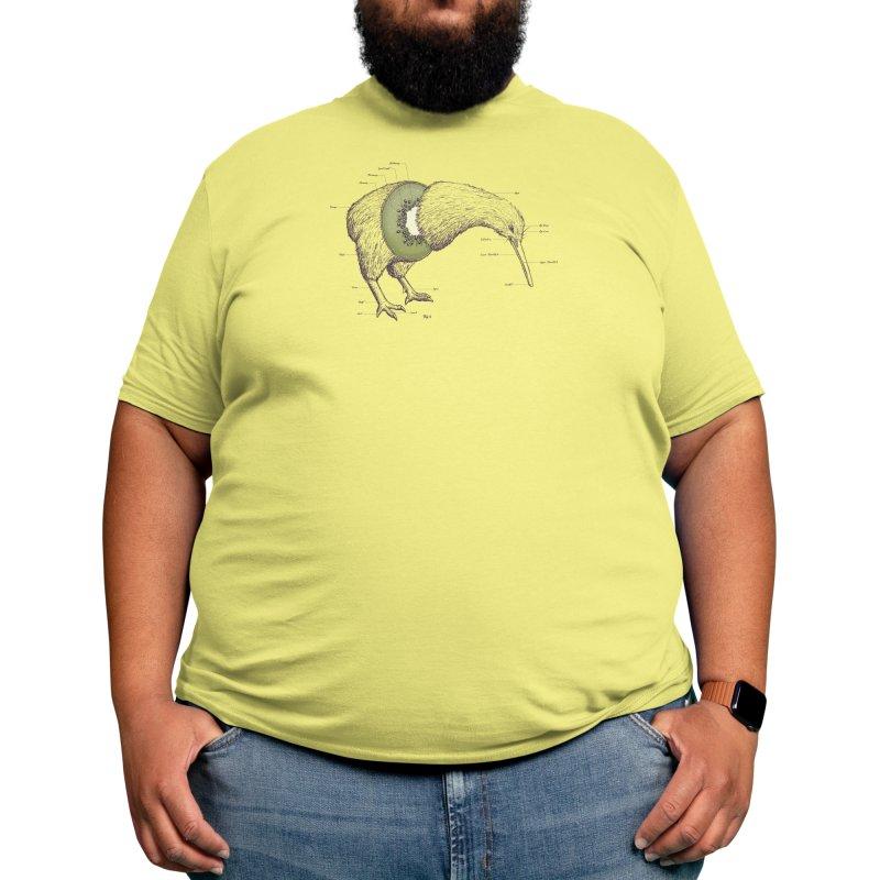 Kiwi Anatomy Men's T-Shirt by Threadless Artist Shop