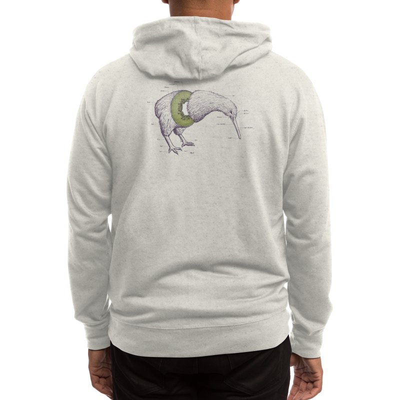 Kiwi Anatomy Men's Zip-Up Hoody by Threadless Artist Shop