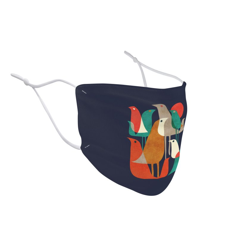 Flock of Birds Accessories Face Mask by Threadless Artist Shop