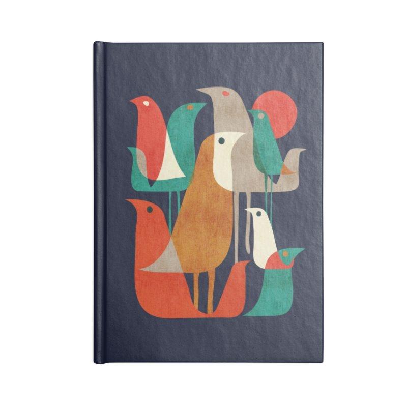 Flock of Birds Accessories Notebook by Threadless Artist Shop