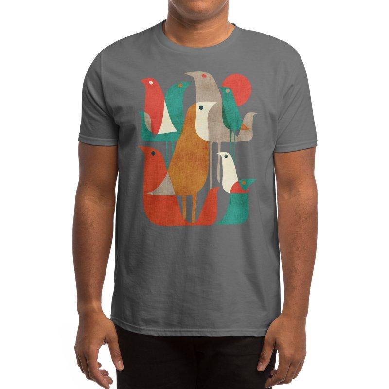 Flock of Birds Men's T-Shirt by Threadless Artist Shop