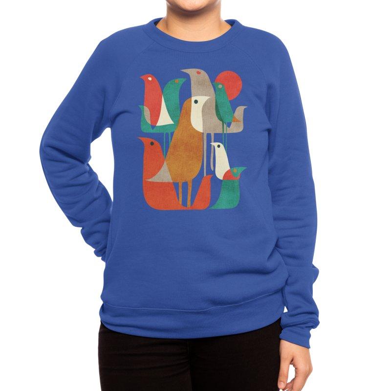 Flock of Birds Women's Sweatshirt by Threadless Artist Shop