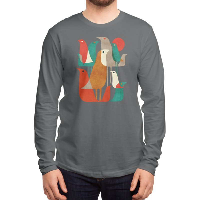 Flock of Birds Men's Longsleeve T-Shirt by Threadless Artist Shop