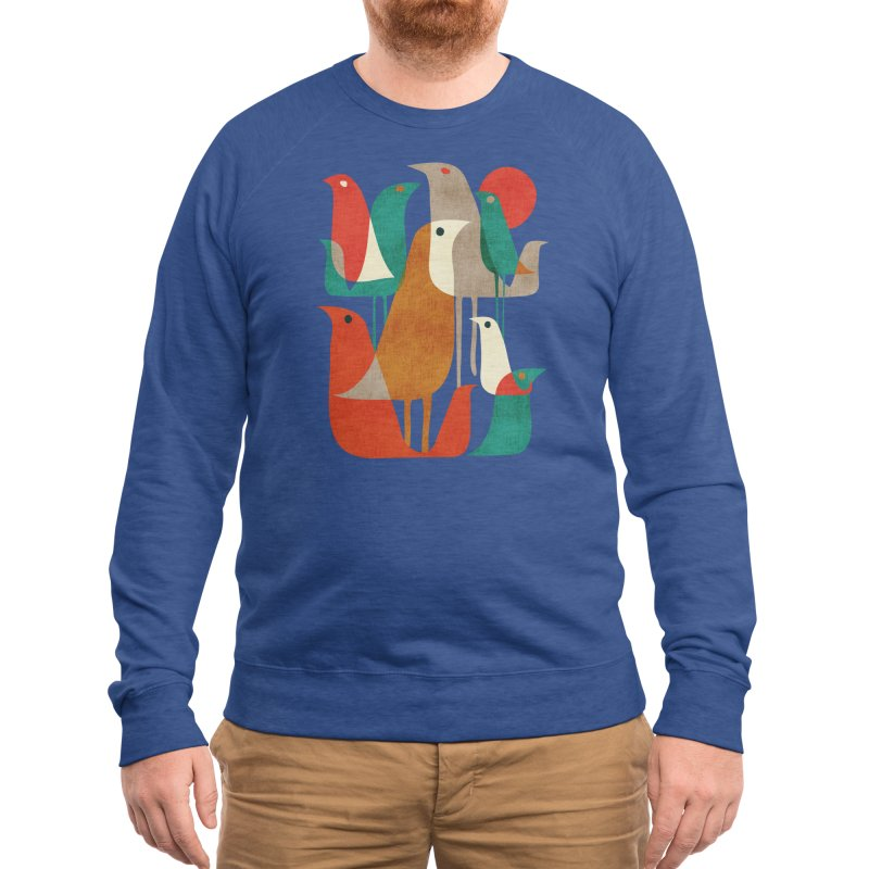 Flock of Birds Men's Sweatshirt by Threadless Artist Shop