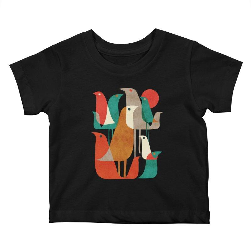 Flock of Birds Kids Baby T-Shirt by Threadless Artist Shop