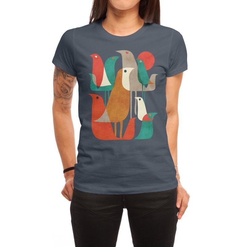 Flock of Birds Women's T-Shirt by Threadless Artist Shop