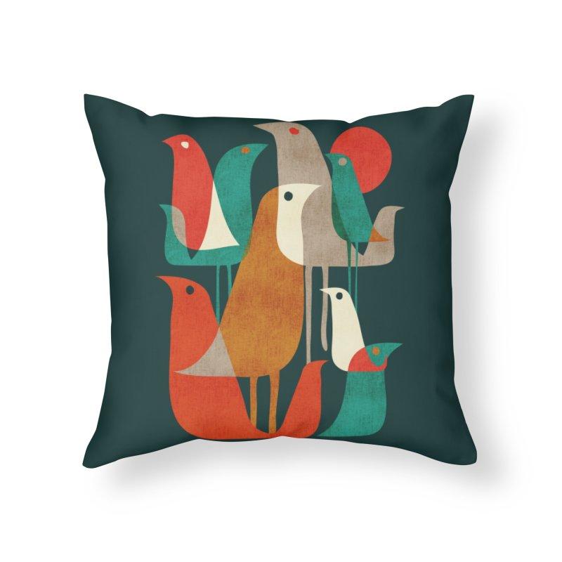 Flock of Birds Home Throw Pillow by Threadless Artist Shop