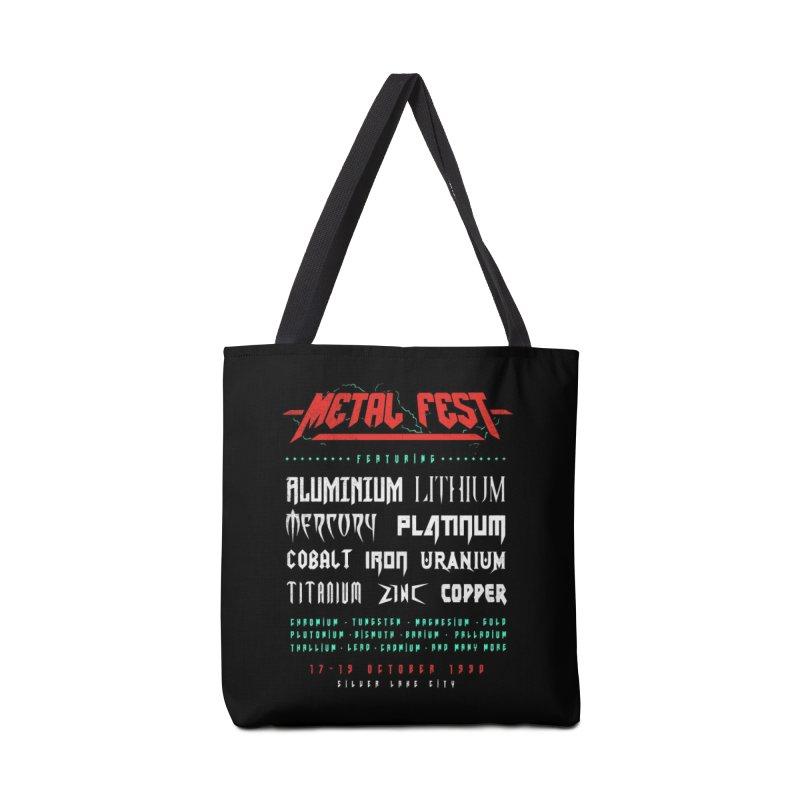 METAL FEST Accessories Bag by Threadless Artist Shop