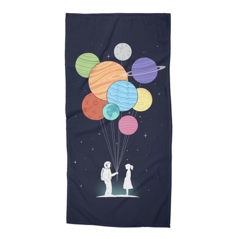 You Are My Universe Accessories Beach Towel by Threadless Artist Shop