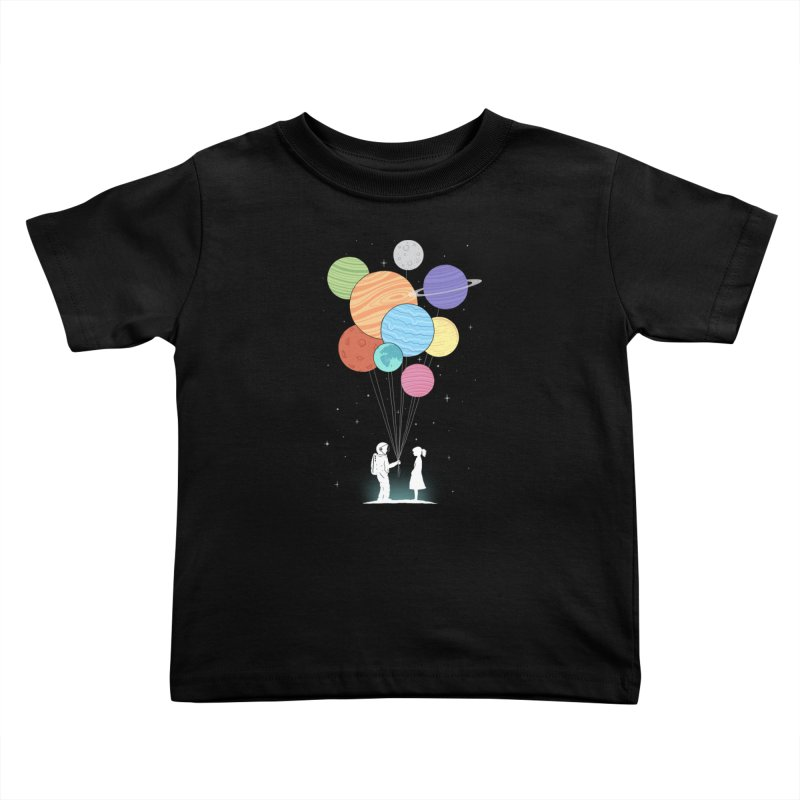 You Are My Universe Kids Toddler T-Shirt by Threadless Artist Shop