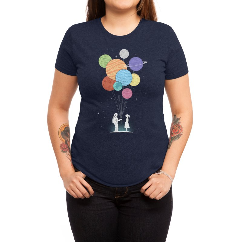 You Are My Universe Women's T-Shirt by Threadless Artist Shop
