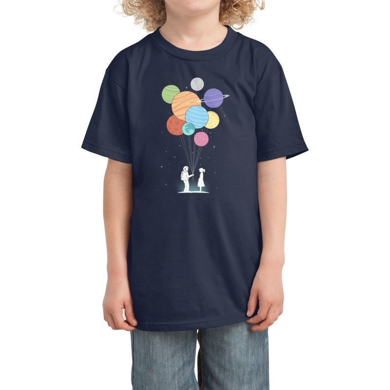 You Are My Universe Kids T-Shirt by Threadless Artist Shop