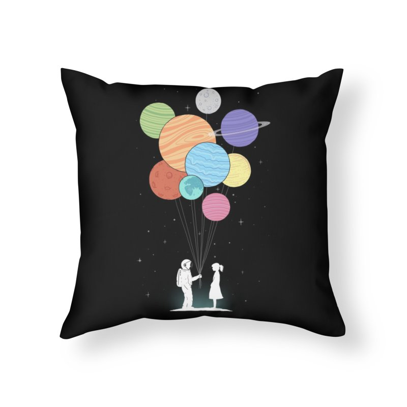 You Are My Universe Home Throw Pillow by Threadless Artist Shop