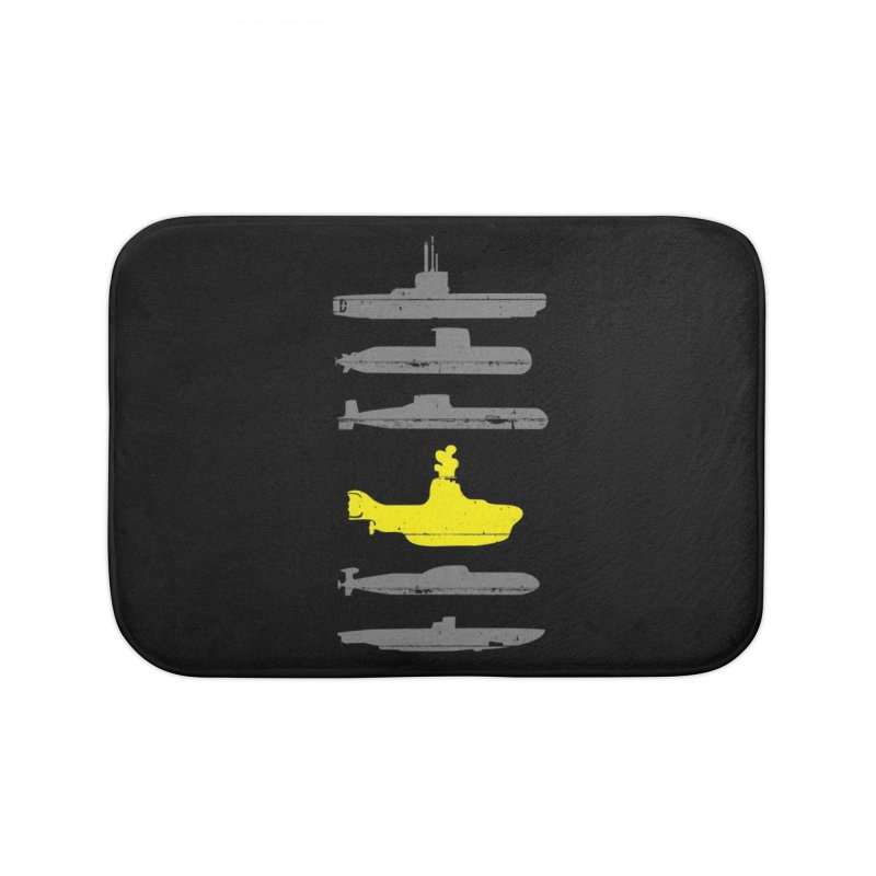 Know Your Submarines Home Bath Mat by Threadless Artist Shop