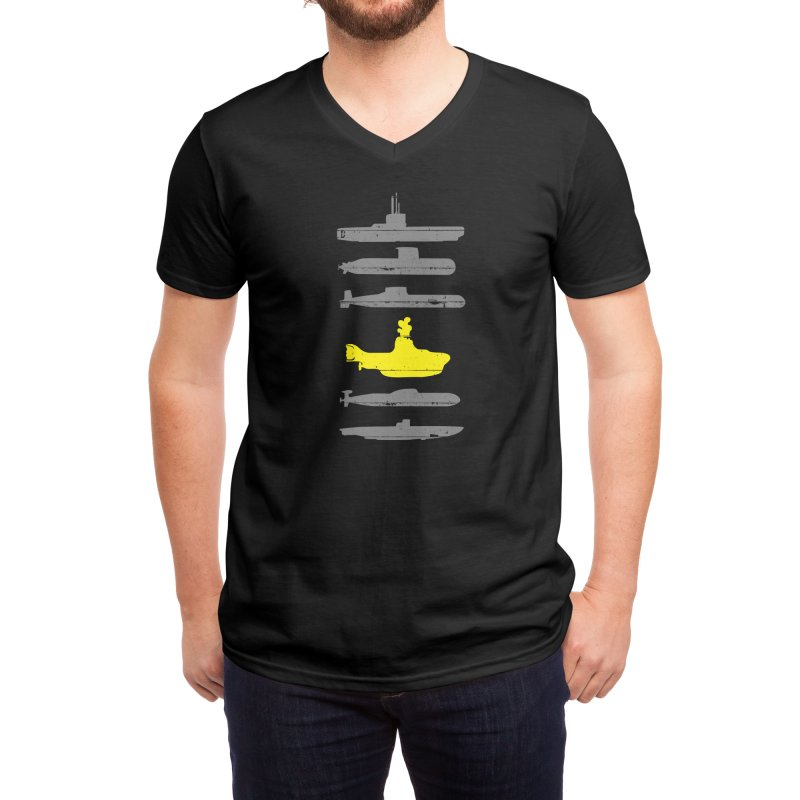 Know Your Submarines Men's V-Neck by Threadless Artist Shop