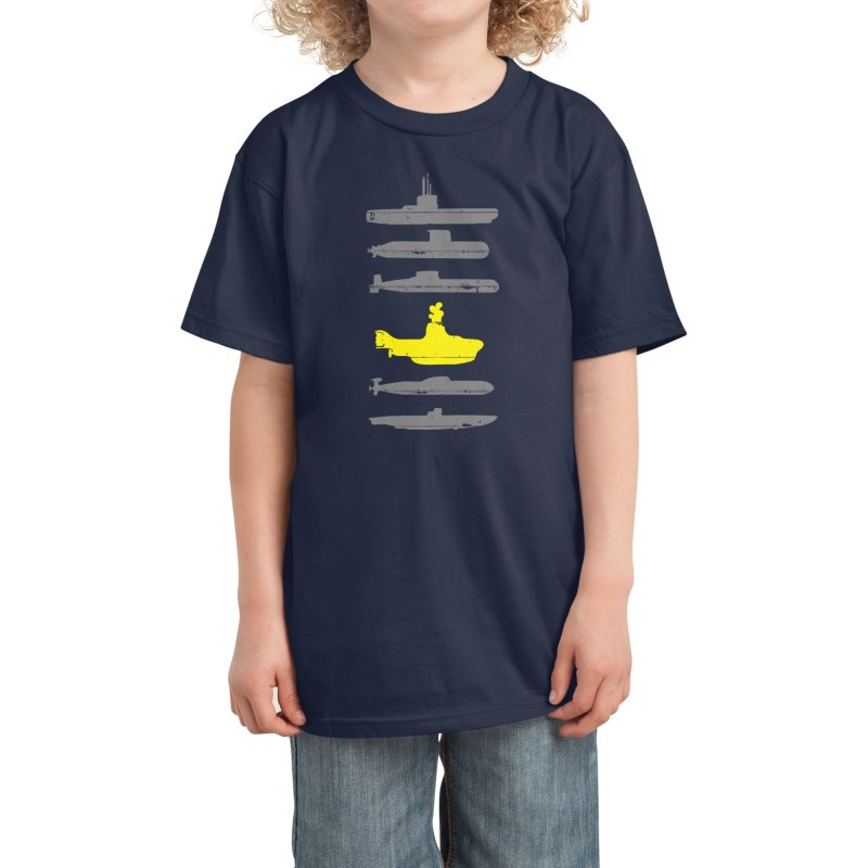 Know Your Submarines Kids T-Shirt by Threadless Artist Shop