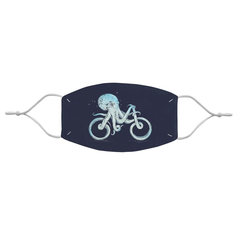 Octopus Bike Accessories Face Mask by Threadless Artist Shop