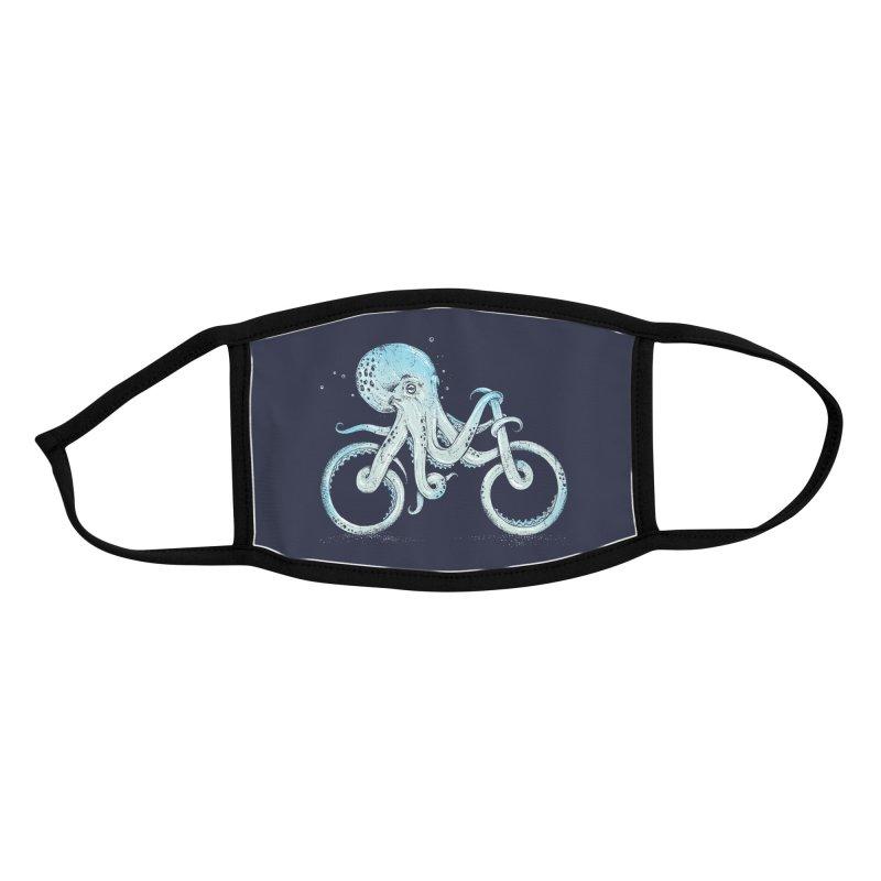 Octopus Bike Accessories Face Mask by Threadless Artist Shop