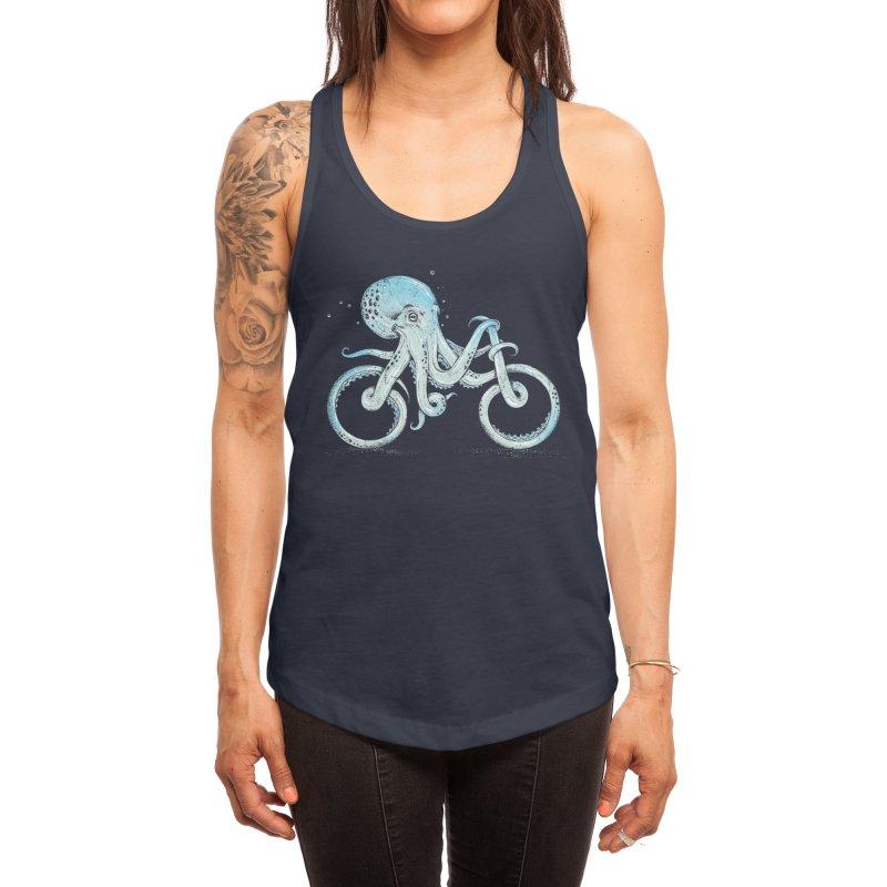 Octopus Bike Women's Tank by Threadless Artist Shop