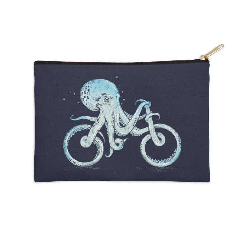 Octopus Bike Accessories Zip Pouch by Threadless Artist Shop