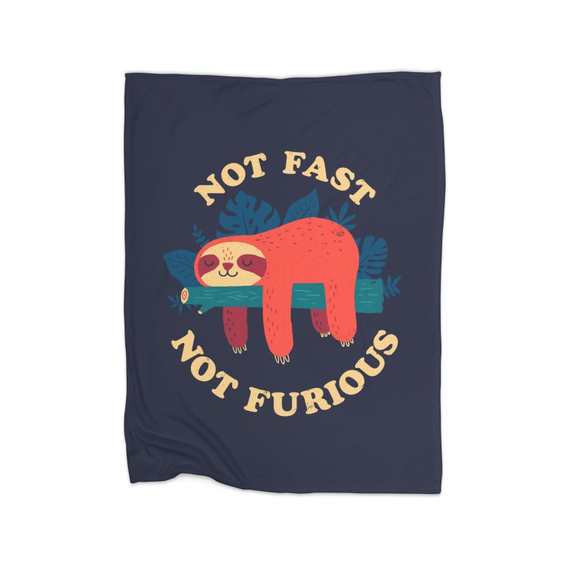 Not Fast, Not Furious Home Blanket by Threadless Artist Shop