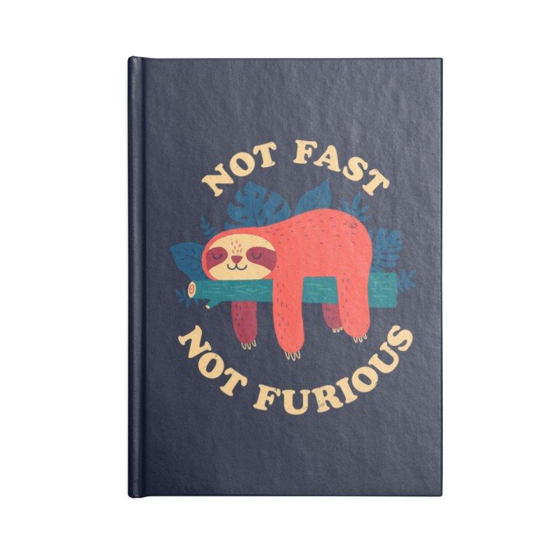 Not Fast, Not Furious Accessories Notebook by Threadless Artist Shop