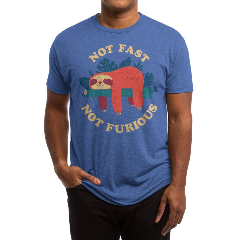 Not Fast, Not Furious Men's T-Shirt by Threadless Artist Shop