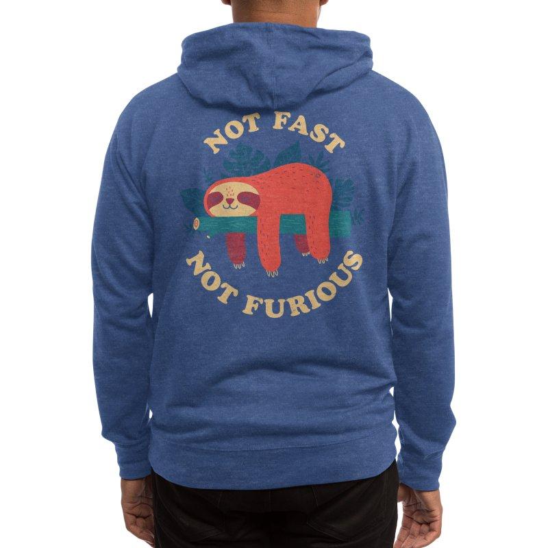 Not Fast, Not Furious Men's Zip-Up Hoody by Threadless Artist Shop