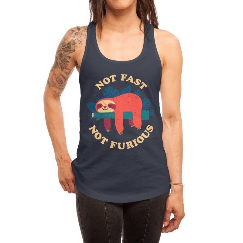 Not Fast, Not Furious Women's Tank by Threadless Artist Shop