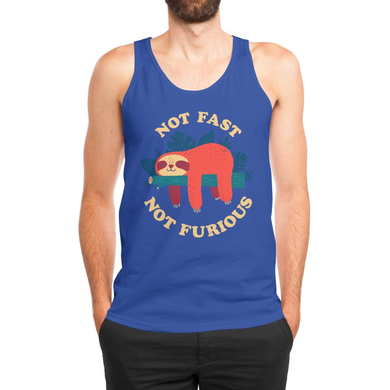 Not Fast, Not Furious Men's Tank by Threadless Artist Shop