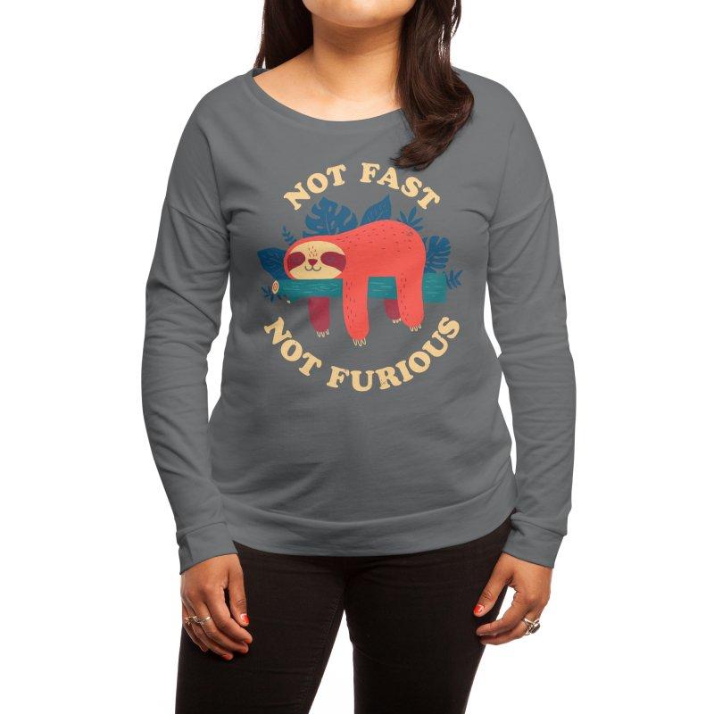 Not Fast, Not Furious Women's Longsleeve T-Shirt by Threadless Artist Shop