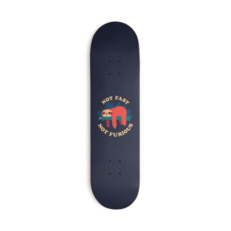 Not Fast, Not Furious Accessories Skateboard by Threadless Artist Shop
