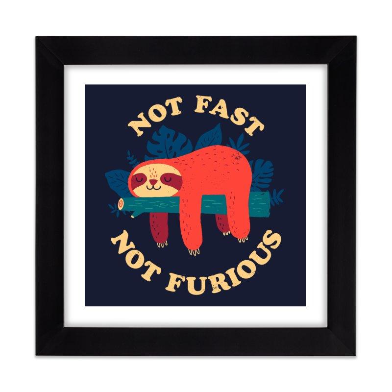 Not Fast, Not Furious Home Framed Fine Art Print by Threadless Artist Shop