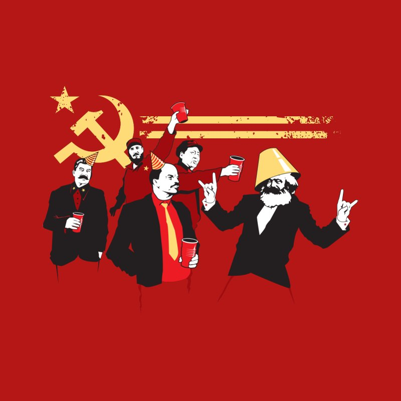 The Communist Party Kids T-Shirt by Threadless Artist Shop