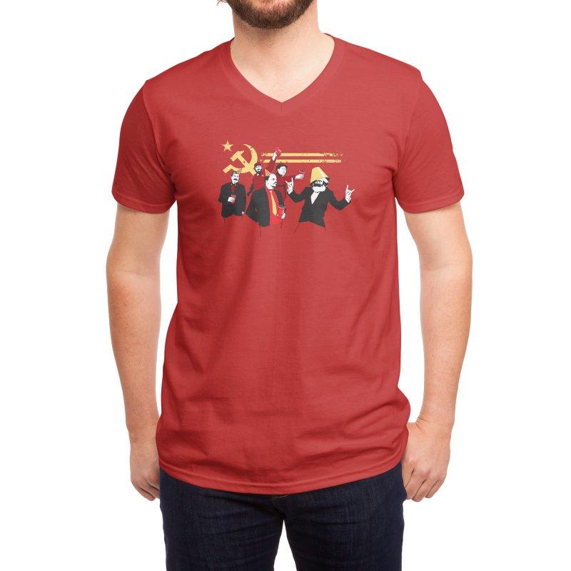 The Communist Party Men's V-Neck by Threadless Artist Shop