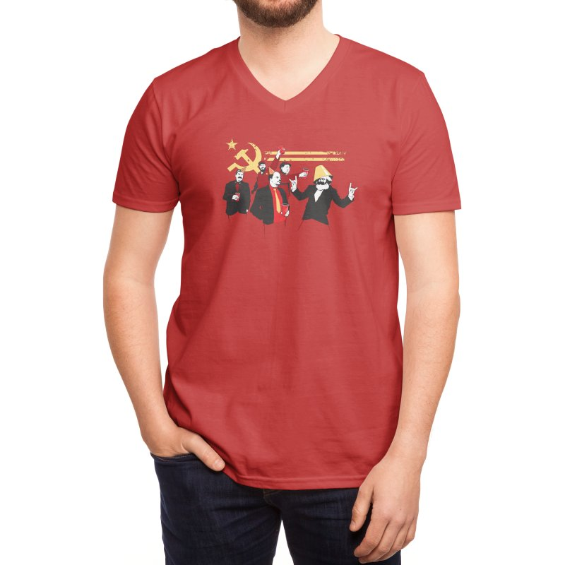 The Communist Party Men's V-Neck by Threadless Artist Shop